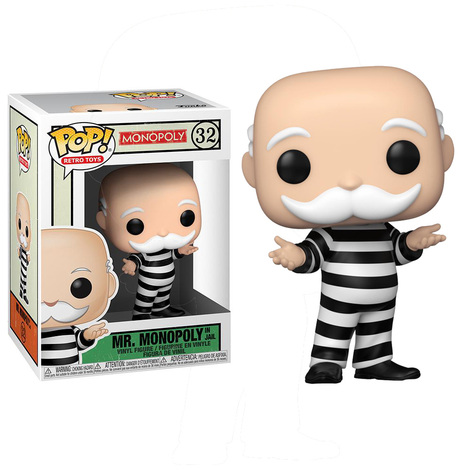 POP! Retro Toys: Monopoly - Mr. Monopoly In Jail #32#