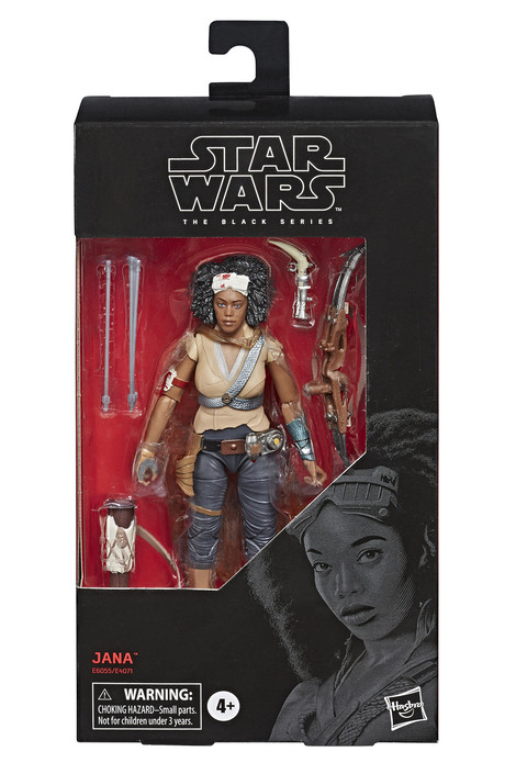 Star Wars - The Black Series - Jannah Action Figure 15cm - E6055
