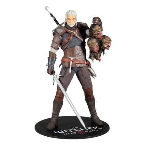 The Witcher Action Figure Geralt 30 cm - MCF13441-4
