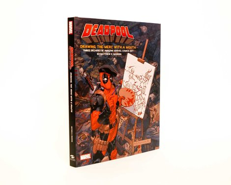 Deadpool Art Book Drawing the Merc with a mouth - ISC87918