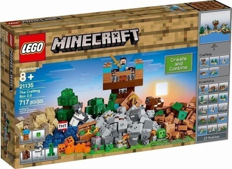 LEGO Minecraft The Crafting Box 2.0 - 21135