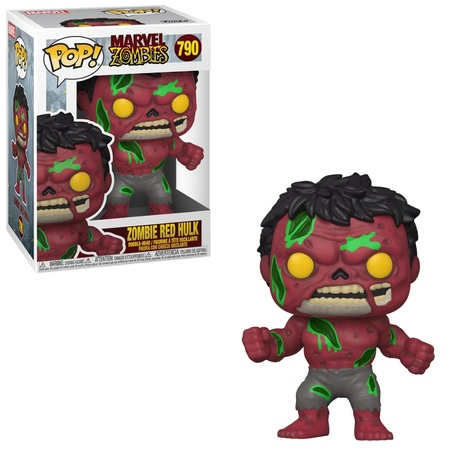POP!Marvel Zombies - Red Hulk  Bobble-Head #790#