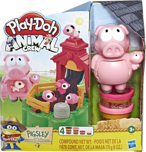 Play-Doh Animal Crew Pigsley Spashin Pigs - E6723
