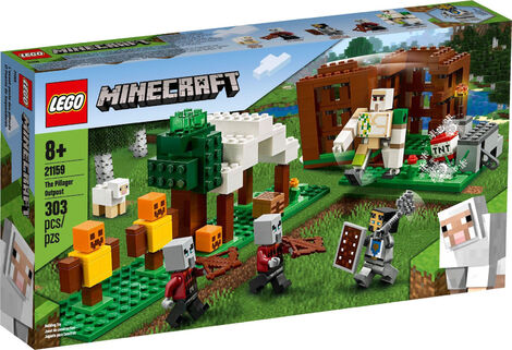 LEGO Minecraft - The Pillager Outpost (21159)