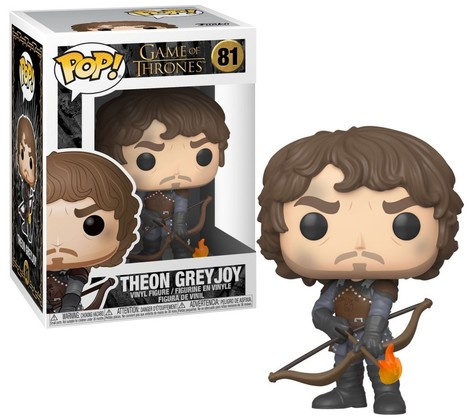 Pop! Φιγούρα Vinyl Theon with Flaming Arrows (Game of Thrones) #81#