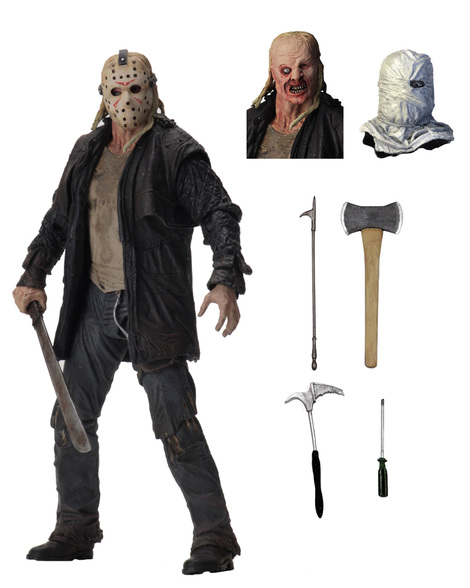 Φιγούρα 18 εκ Ultimate Jason (Friday The 13th) - NEC39720