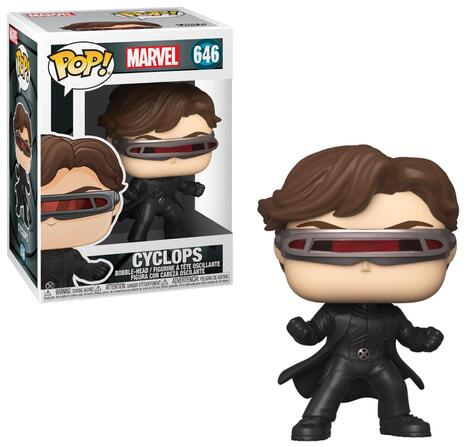 POP! Marvel: X-Men 20th Anniversary - Cyclops  Bobble-Head #646#