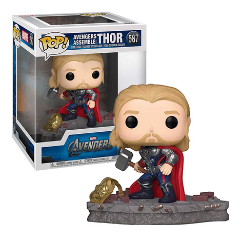 POP! Deluxe: Avengers Assemble - Thor Bobble-Head - Special Edition #587#