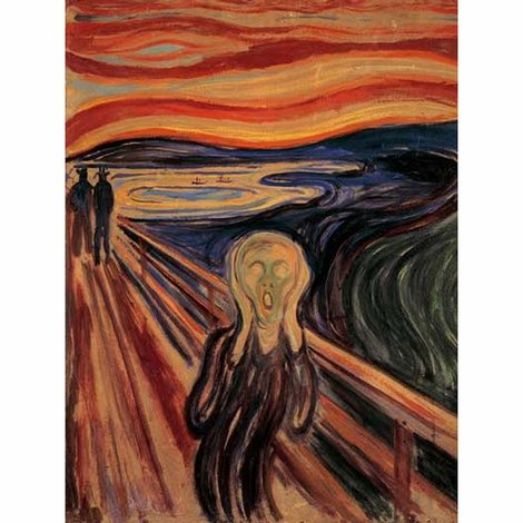 Ravensburger Puzzle  1000 Τεμ Edvard Munch - Η Κραυγή - 05-15758