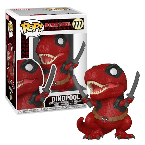 POP!Marvel Deadpool 30th- Dinopool #777#