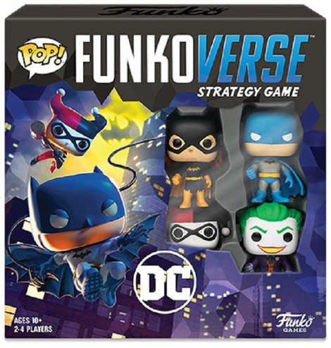 Funkoverse Strategy Game 4 pack - DC Gotham City Rumble - 050516