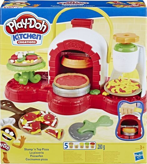 Play-Doh Stamp N Top Pizza - E4576