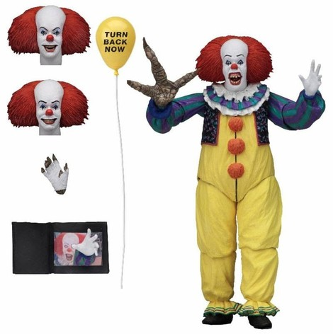 Stephen King's It 1990 Action Figure 18cm Ultimate Pennywise Version 2 - NECA45471