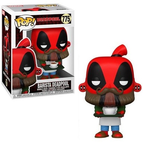 POP!Marvel Deadpool 30th - Coffee Barista  #775#