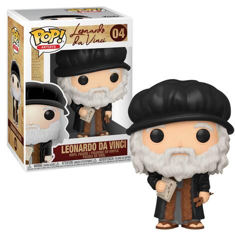 POP! Artists - Leonardo DaVinci #04#
