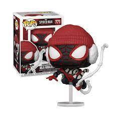 POP!Marvel Gameverse Spiderman Miles Morales Winter Suit #771#