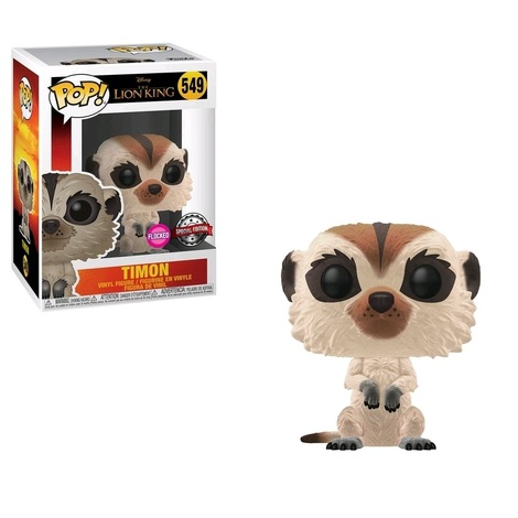 POP! The Lion King - Flocked Timon Special Edition #549#