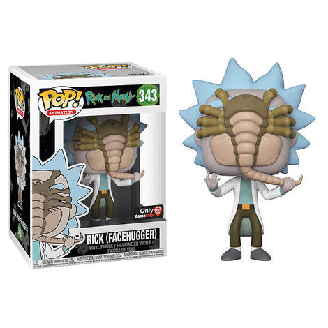 POP Φιγούρα Rick with Facehugger (Rick and Morty) #343#