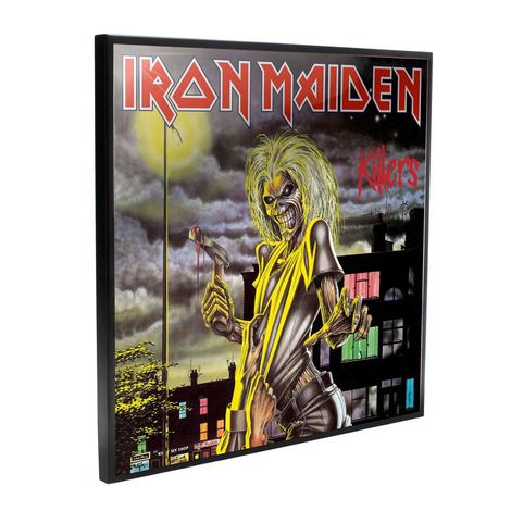 Iron Maiden Crystal Clear Picture Killers 32 x 32 cm - NEMN-B4389M8