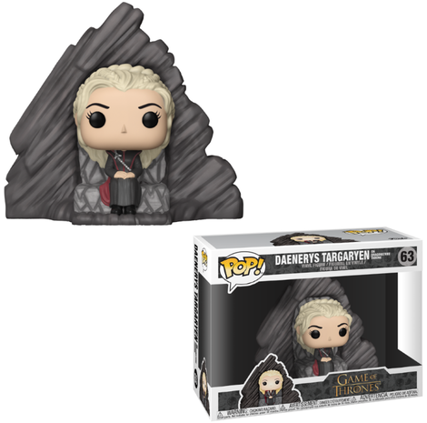 POP! Φιγούρα Vinyl Daenerys on Dragonstone Throne (Game of Thrones)  #63